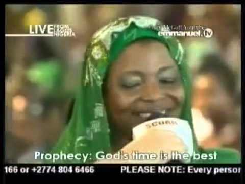 TB Joshua Prophecy to a Muslim Woman
