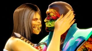 getlinkyoutube.com-Mortal Kombat 9 - Mileena Be Mine Fatality on all Characters 4K 60FPS Gameplay Fatalities Mods