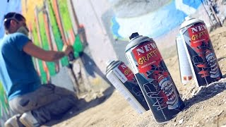 New Graffiti Professional Paint Sprays