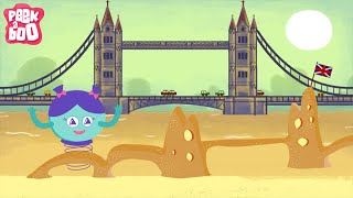 getlinkyoutube.com-London Bridge Is Falling Down | Nursery Rhymes For Kids | Popular English Rhymes | Peekaboo