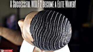 getlinkyoutube.com-360 waves: What is WOLFING??  A Successful Wolf to become a Elite Waver!