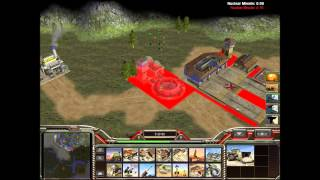 getlinkyoutube.com-Command And Conquer Generals Zero Hour A Global Crisis UN General Leang Gameplay