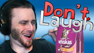 getlinkyoutube.com-Try Not to Laugh Challenge | Cat Food Eating?