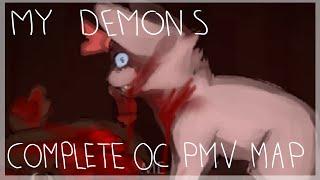 getlinkyoutube.com-My Demons (Complete OC PMV MAP)