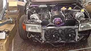 Audi 80 4.2 V8 BiTurbo AWD Turbo Speed Extreme Tuning Thessaloniki