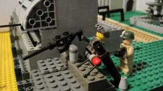 getlinkyoutube.com-Lego D-Day Omaha Beach