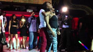 konshens bring a girl stage and role play / stop sign live perofrmance in toronto march 2013