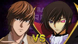 getlinkyoutube.com-Light Yagami vs Lelouch Lamperouge. Épicas Batallas de Rap del Frikismo T2 | Keyblade