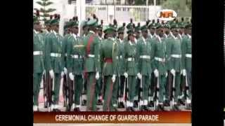 getlinkyoutube.com-Ceremonial Change of Guard Parade 2014  01-20-2014