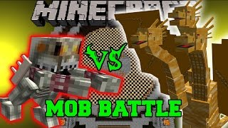getlinkyoutube.com-KING BOWSER VS KING GHIDORAH - Minecraft Mob Battles - Minecraft Mods