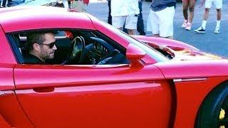 getlinkyoutube.com-RAW Footage 1/3: Paul Walker & Roger Rodas Crashed Porsche Carrera GT 0479