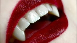 getlinkyoutube.com-How to Apply: Vampire Fangs