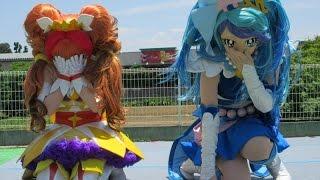 getlinkyoutube.com-Go!プリンセスプリキュアがやってくる! ノーカット最前列Precure Show,Pretty Cure,Japanese Animation,Character Show