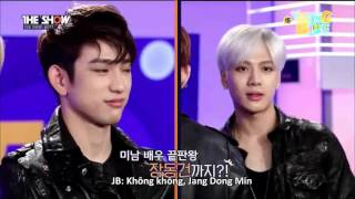 getlinkyoutube.com-[VIETSUB] 151013 The Show 5 Second Interview GOT7