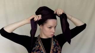 getlinkyoutube.com-How to tie a royal turban