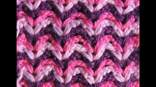 getlinkyoutube.com-Crochet : Punto Fantasia en Colores