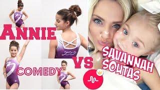 getlinkyoutube.com-Annie Bratayley VS Savannah Soutas Comedy musical.ly Compilation | Lip-Sync Battle