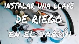 getlinkyoutube.com-CÓMO INSTALAR UNA FUENTE DE AGUA EN EL JARDÍN