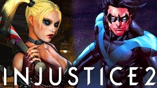 getlinkyoutube.com-Injustice 2: Nightwing's Horrible Death, Harley Quinn & Doomsday (Injustice Gods Among Us 2 Q&A)