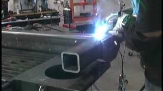 getlinkyoutube.com-Pulse Mig Welding Project on a Stronghand BuildPro Table