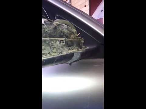 Разбор ремонт зеркал VOLVO S80 2часть.