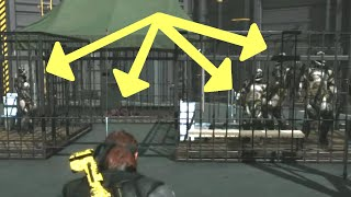 getlinkyoutube.com-MGSV: Phantom Pain - All Cages Filled (Quarantine Platform) Metal Gear Solid 5 Secrets: Part 26