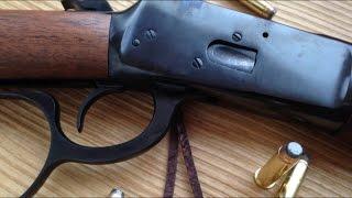 getlinkyoutube.com-Rossi M92 .357 Lever Action Rifle