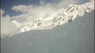 getlinkyoutube.com-Buried Alive - Avalanche accident caught on helmet camera