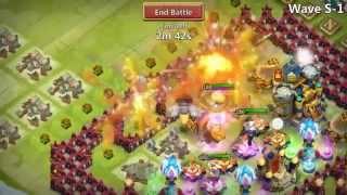 getlinkyoutube.com-Castle Clash Vlad Dracula 9/9 HBM S!