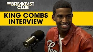 King Combs Talks '90's Baby' Mixtape, Dodges Charlamagne's Intrusive Questions width=