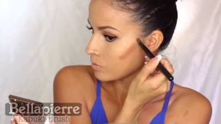 getlinkyoutube.com-Bellapierre | All Over Face Contour and Highlighting Kit Tutorial
