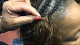 Wet n Wavy weave tutorial