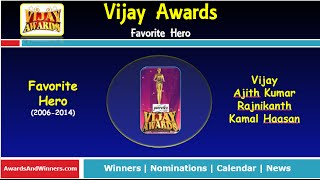 getlinkyoutube.com-Vijay Awards - Favorite Hero (2006-2014)