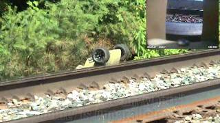 getlinkyoutube.com-Pointman Tactical Robot Maneuvers on Railroad