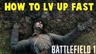 getlinkyoutube.com-How To Rank Up Fast Battlefield 1