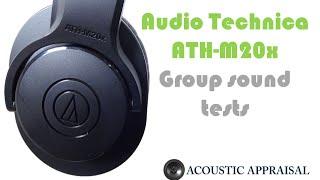 getlinkyoutube.com-Audio Technica ATH-M20x sound tests