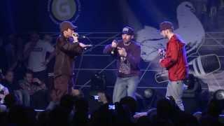 getlinkyoutube.com-Reeps One vs Youkai Uraniarai - Best 16 - 3rd Beatbox Battle World Championship