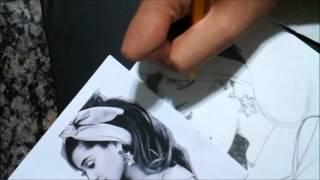 getlinkyoutube.com-Drawing #1 - Ariana Grande