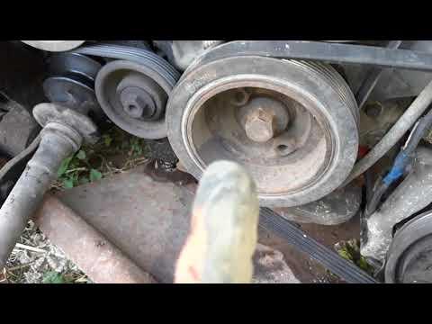 Mazda Xedos 9 навесное двигателя KF(часть1)