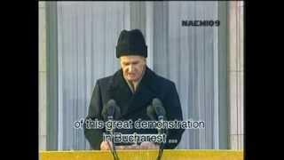 getlinkyoutube.com-Nicolae Ceausescu LAST SPEECH