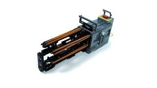 getlinkyoutube.com-Lego Technic Motorized Minigun - 11 shots/second
