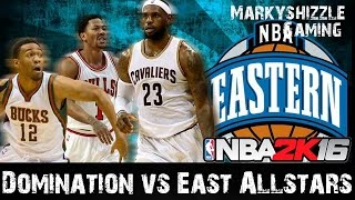 NBA 2K16 - 3 Star Domination Guide VS Eastern All-Stars - XB1/PS4