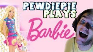 getlinkyoutube.com-PLAY SCARY GAMES THEY SAID! - Barbie Game