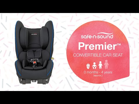 Safe-n-Sound Premier Convertible Car Seat - Newborn to 4 Years