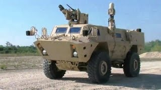 getlinkyoutube.com-Textron Systems - 4 Canadian TAPVs Starts Pre-Production Vehicle Testing & Training [480p]