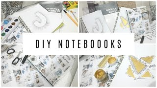 getlinkyoutube.com-DIY TUMBLR INSPIRED NOTEBOOKS | Jiannine