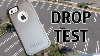 getlinkyoutube.com-iPhone 5S Otterbox Defender Drop Test from 100 feet