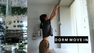 DORM MOVE IN // First few days at RISD