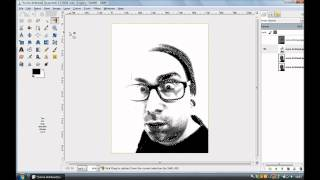 The easiest way to make a multi layer stencil using GIMP