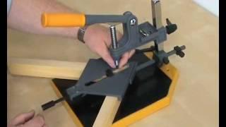 getlinkyoutube.com-Framers Corner PFK04 Hand Operated Frame Making Kit